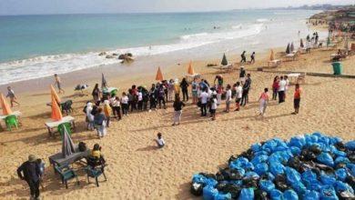 Photo of تنظيف شاطئ الغازية