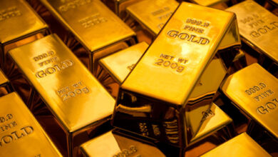 Photo of الذهب يصعد مع انخفاض الدولار