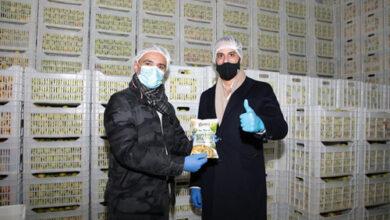 """Photo of سويد خلال زيارته معمل رقائق التفاح في جزين: """"هذا المشروع يشكل وجها من أوجه الصمود للبنان"""""""