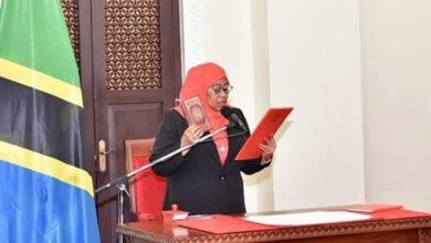 Photo of سامية حسن صلوحي أول امرأة تتولى رئاسة تنزانيا
