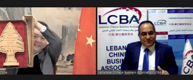 Photo of السفير الصيني خلال لقاء وداعي مع علي العبد الله: اللقاح الصيني يصل لبنان الأسبوع المقبل