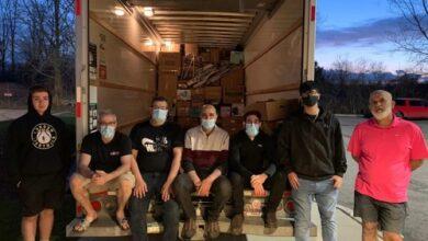 """Photo of المغترب في كندا حسن جابر يطلق حملة مساعدات غذائية وطبية تحمل اسم """"نور"""""""